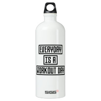 Workout Day fitness Z2y22 Water Bottle