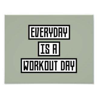 Workout Day fitness Zx41w Photo Print