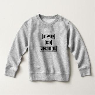 Workout Day fitness Zx41w Sweatshirt