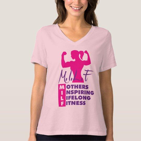 Workout Fitness MILF T-Shirt
