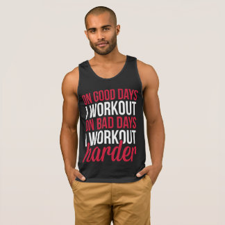 Workout Harder Gym Quote