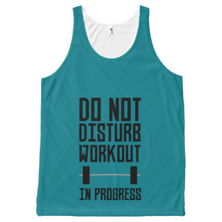 Workout in Progress  Zzu78 All-Over-Print Tank Top