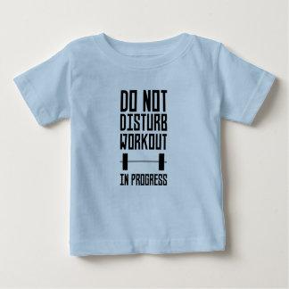 Workout in Progress  Zzu78 Baby T-Shirt
