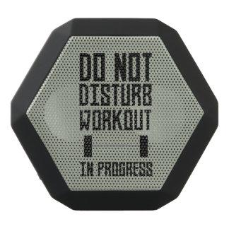 Workout in Progress  Zzu78 Black Bluetooth Speaker
