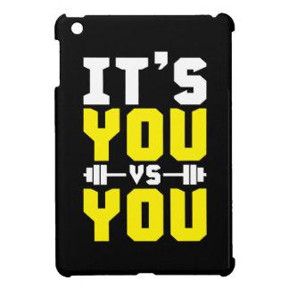 Workout Inspiration - It's You vs You - Gym iPad Mini Case