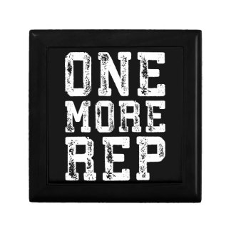 Workout Inspiration - One More Rep - Motivational Gift Box