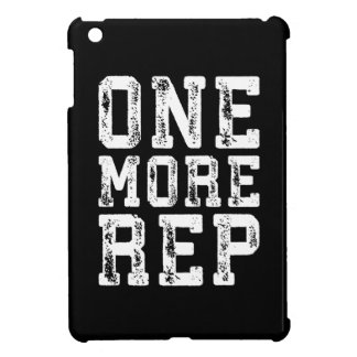 Workout Inspiration - One More Rep - Motivational iPad Mini Covers