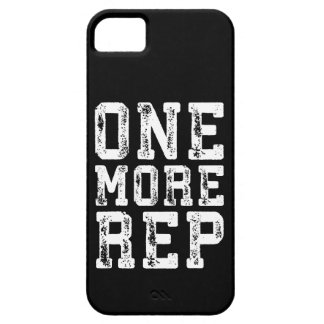 Workout Inspiration - One More Rep - Motivational iPhone 5 Cover