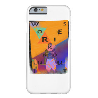 Workout Junkies Popart Barely There iPhone 6 Case