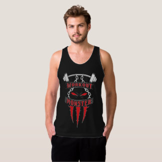 Workout Monster Tank Top