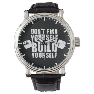 Workout Motivation - Build Yourself - Barbell Watches