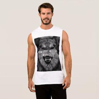 workout special sleeveless shirt