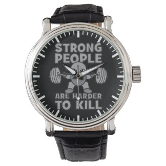 Workout - Strong People Are Harder To Kill, Kawaii Watch
