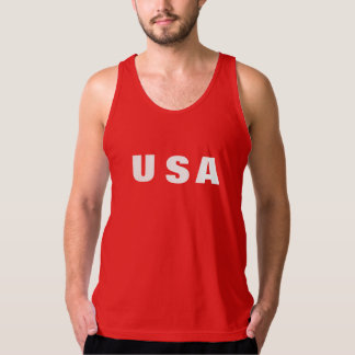 Workout Tank Top United States Pride