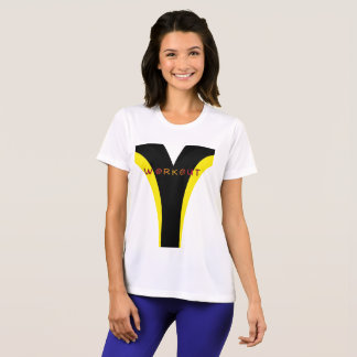 WORKOUT Top Black and Yellow by Julie Everhart