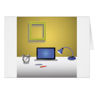 workplace lamp card