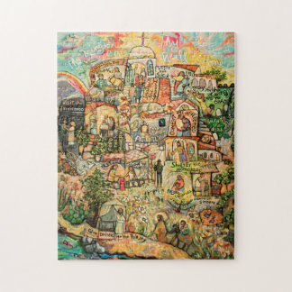 Works of Mercy Catholic Art Puzzle