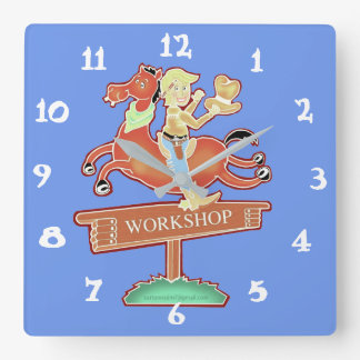 Workshop Cowboy clock