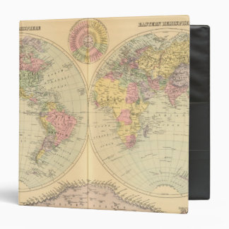 World 10 3 ring binder