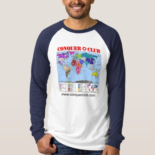 World 2.1 Map T-Shirt