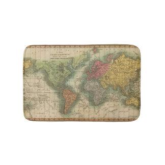 World 4 bath mat