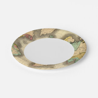 World 6 paper plate