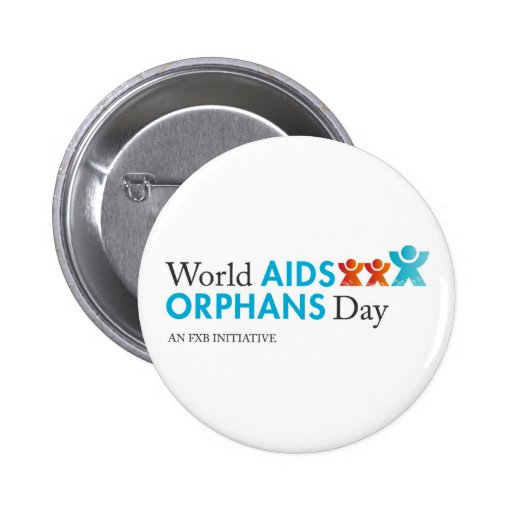 World AIDS Orphans Day Pin