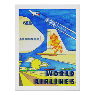 World Airlines poster