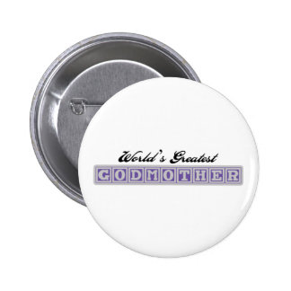World's Greatest Godmother 2 Inch Round Button