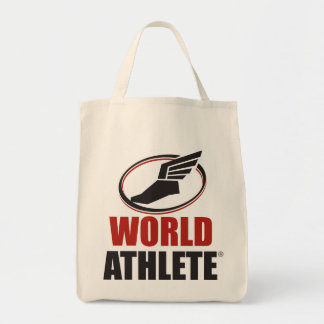World Athlete® Grocery Tote