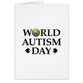 World Autism Day Card