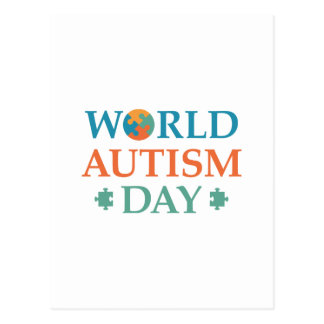 World Autism Day Postcard