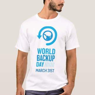 World Backup Day Value Tshirt