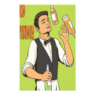 World Bartender Day - Appreciation Day Customized Stationery