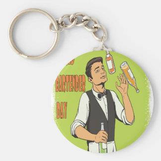 World Bartender Day - Appreciation Day Keychain