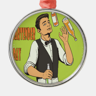 World Bartender Day - Appreciation Day Metal Ornament
