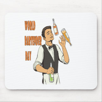 World Bartender Day - Appreciation Day Mouse Pad