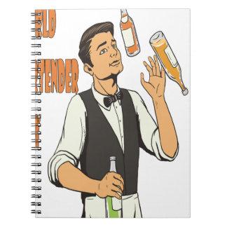 World Bartender Day - Appreciation Day Notebook