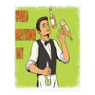 World Bartender Day - Appreciation Day Postcard