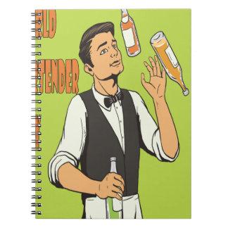 World Bartender Day - Appreciation Day Spiral Notebook