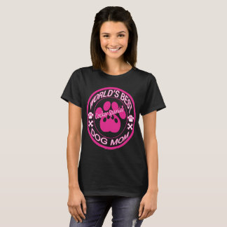 World Best Cocker Spaniel Dog Mom T-Shirt