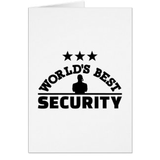World' best security card