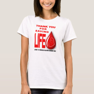 world blood donor day T-Shirt