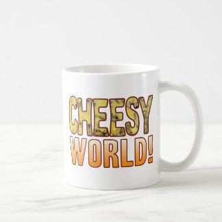 World Blue Cheesy Coffee Mug