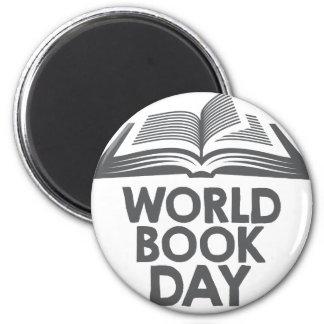 World Book Day - Appreciation Day 2 Inch Round Magnet