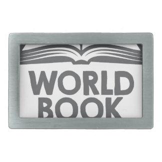 World Book Day - Appreciation Day Belt Buckles