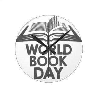 World Book Day - Appreciation Day Round Clock