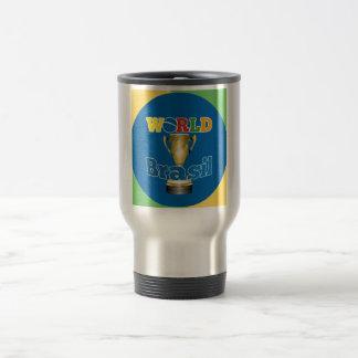 World Brasil Trophy Travel Mug