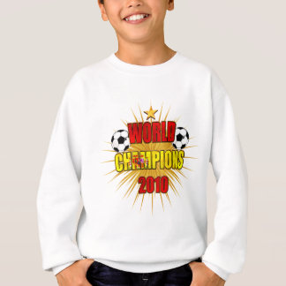 World Champions 2010 Spain Sweatshirt