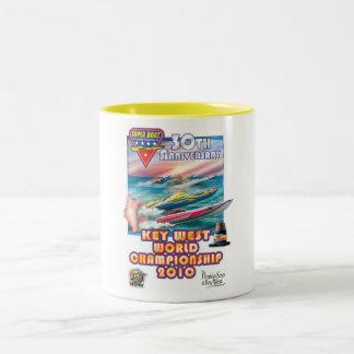 world championship  mug. Two-Tone mug